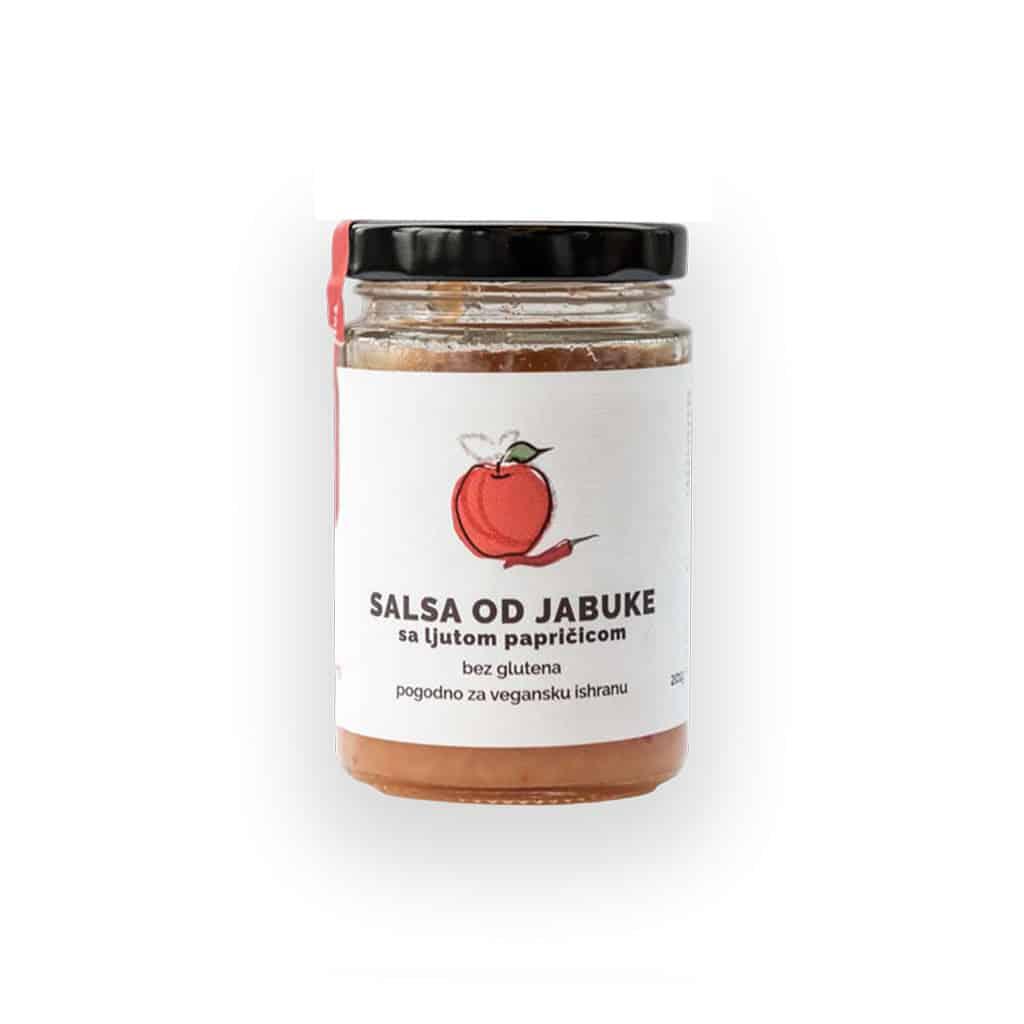 Salsa od jabuke i ljutih papričica